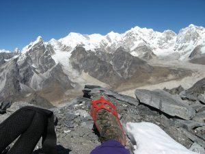 Viki Grošelj in Veriga dereze v Nepalu